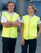 AIW SW02; High Visibility Safety Vest 100% Polyester