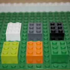 LEGO: Pack of 10  2 X  3 Brick ( 3002 ). Various Colours. NEW