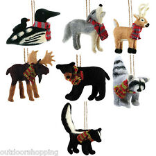 Outside Inside Felt Ornament - Holiday Decorations, Accessories, Recreational