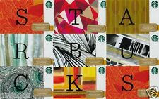 STARBUCKS Gift Cards $0 DOLLAR VALUE Collector's Item Alphabet Letter A-Z Design