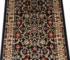 Dean Classic Keshan Ebony Custom Length Carpet Rug Hall Stair Runner