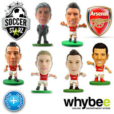 ARSENAL FC SOCCERSTARZ FOOTBALL MODEL FIGURES -OFFICIAL GUNNERS SOCCER STARZ NEW