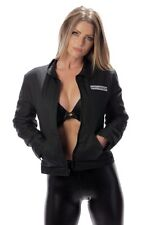 """*NEW*OFFICIAL* Sons Of Anarchy Women's """"UNLINED"""" Mechanic Jacket"""