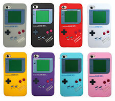Retro Game Boy Gameboy Silicone Soft Rubber Gel Case Cover For Apple iPhone 5 5S