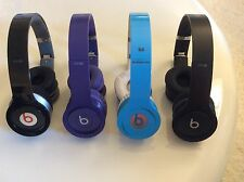 Beats by Dre Solo HD  Black , Red, Drenched Black , Light Blue, Drenched Purple