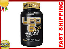 LIPO 6 BLACK HERS NUTREX 120/240/360 caps. - For Women - Cellulite - Weight Loss