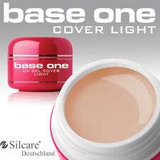 Silcare Base One Cover Light UVGel 1 Phasen Camouflage Make Up Aufbaugel 5 15 30