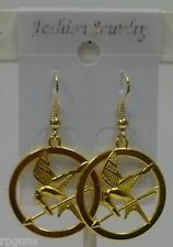 Games Begin Necklace OR Earrings Inspired by Hunger Games Katniss Catching Fire