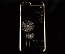 Dandelion Electroplating Clear Hard Case Cover Skin for iPhone 6 Plus 5.5""