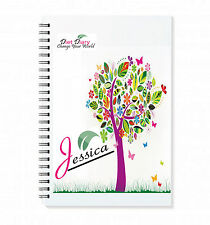 PERSONALISED FOOD DIARY WEIGHT LOSS PLANNER & TRACKER DIET SLIMMING TRACKER