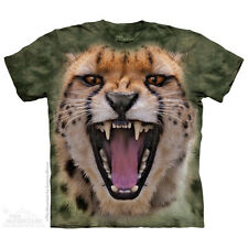 Wicked Nasty Cheetah Kids T-Shirt by The Mountain. Big Face Sizes S-XL NEW