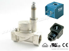 "Solenoid valve CEME 9016, NC, 1"", Steam, max 10 bar, 12V 24V 110V 230V 50/60Hz"
