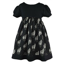Metallimonsters Mexi Skull dress alternative goth punk rock metal baby clothes