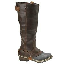 NIB SOREL Slimpack Riding Tall Boot in Nutmeg