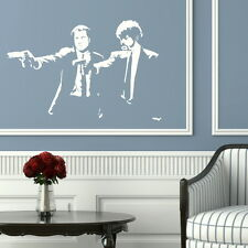 PULP FICTION FILM wall graphic giant tattoo picture print stencil nic18