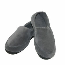 New totes ISOTONER Mens Microterry Memory Foam Indoor/Outdoor Slip-On Slippers