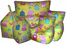 Peppa Pig Bean Bags, Childrens Beanbag Chair, Kids Sofa