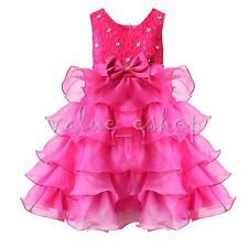 NEW Flower Girls Toddler Kids Princess Party Pageant Wedding Bridesmaid Dresses