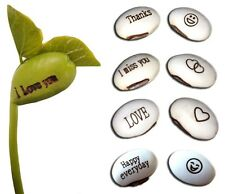 Magic Message Beans Seeds, Fun Novelty Gift Grow, Grow Your Own Word Message