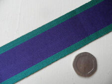 General Service Medal 1962-   , replacement ribbon, full size.   Free Postage