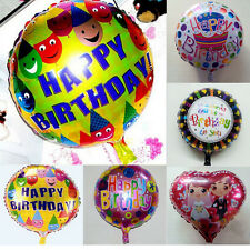 "18"" Baby Kids Boy Girl Happy Birthday Wedding Party Decor Foil Balloon"