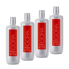 Schwarzkopf Developer Igora Royal 3% 12% 1000ml / 33.8 oz FREE SHIPPING WORLWID