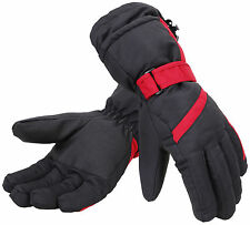 Women Winter Warm Thinsulate Waterproof Skiing Snowboard Ski Gloves