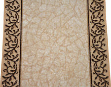 Dean Garden Path Beige Non-Skid Washable Carpet Stair Hall Kitchen Rug Runner