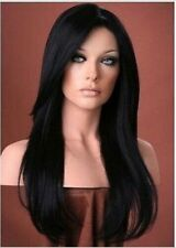 Malaysian Lace Front/Full Lace  wigs  human Remy Hair silky straight  4 colors