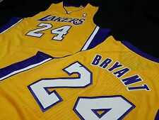 Kobe Bryant Los Angeles Lakers NBA jersey Gold Game Jersey Revolution 30