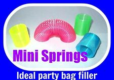 MINI SPRINGS SLINKY 5-30 Party Bag Toy Fillers Fundraising Toy Gift children fun