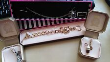 Juicy Couture Snowman & Hot Chocolate LTD ED Charms & Toggle Style Bracelets