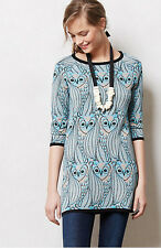 NWT Anthropologie By Monogram Nestled Owl Tunic Swater Sz XS