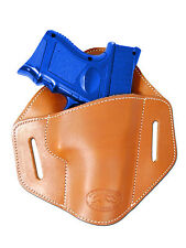 New Barsony Tan Leather Belt Slide Gun Holster Walther Steyr Compact 9mm 40 45