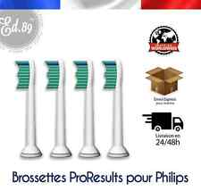 TETES BROSSETTES Type Sonicare ProResults brosse à dents Philips