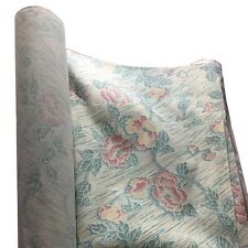 Floral Upholstery Fabric 204cm roll width cheap cotton texture by meter