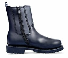 Ridge MC206 All Leather Side Zipper Fireman Police Casual motorcycle Boots