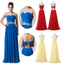 Victorian RED BLUE ball gown MAXI Prom Evening Masquerade Bridesmaid Party Dress