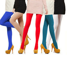 Women's Semi Opaque Tights Pantyhose Colors Stockings