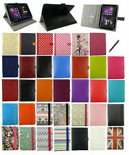 "UNIVERSALE MULTI ANGOLO Wallet Case Cover per MEDION 9.7-10.1 ""Tablet Con Stilo"