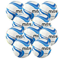 10 x NEW Mitre Impel Training Football Red + Blue Available in Sizes 3 4 5