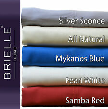 Brielle 100% Bamboo Twill Sheet Set Comes in a Giftable Box NEW