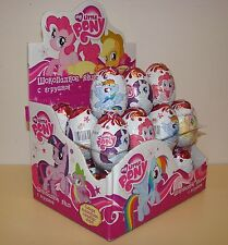 My Little Pony Eggs Milk Chocolate Surprise with 3D Collectible Toys