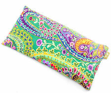 Heat / Cool Bag Pack Wheat_Lined_Scented_Cotton_33x16_PAISLEY JUNGLE