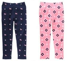 "NWT GYMBOREE ""Smart Girls Rule"" Blue/ Navy and Pink Leggings"