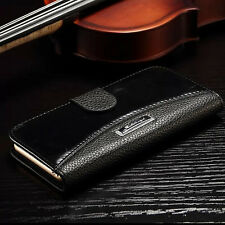 For Samsung Galaxy Note 4 N9100 Luxury Leather Flip Case Stand Wallet Cover Skin
