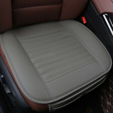 PU Leather Bamboo Charcoal Seat Cushion Cover Pad Mat for Auto Car Office Chair