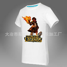 League of Legends! The Popular new card Atlas cotton T-shirt Mens Womens LOL