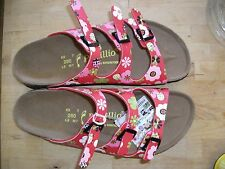 PAPILLIO LIC.BIRKENSTOCK - FLORIDA - RED BEETLES RRP $122 SAVE $32