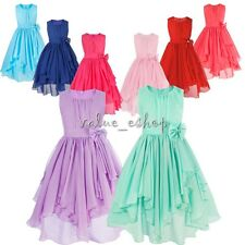 Girls Princess Dress Toddler Baby Wedding Party Pageant Gold Sequins Tulle Dress